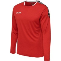 Hummel Authentic Poly Trikot langarm TRUE RED Herren