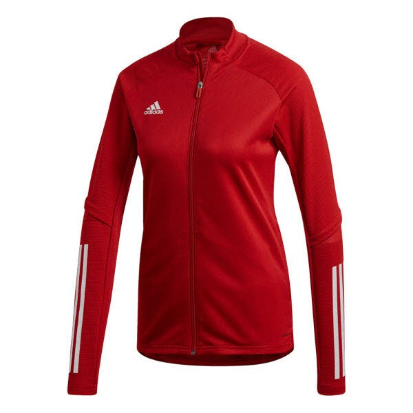 adidas Condivo 20 Trainingsjacke power red-white Damen - Bild 1