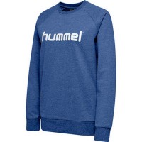 Hummel Go Cotton Logo Sweatshirt true blue Damen