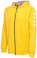 Hummel Go Cotton Kapuzenjacke sports yellow Kinder