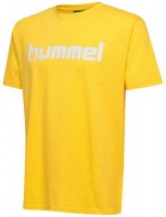 Hummel Go Cotton Logo T-Shirt sports yellow Herren