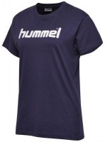 Hummel Go Cotton Logo T-Shirt marine Damen