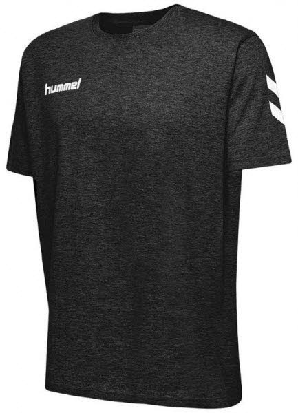 Hummel Go Cotton T-Shirt black Kinder - Bild 1