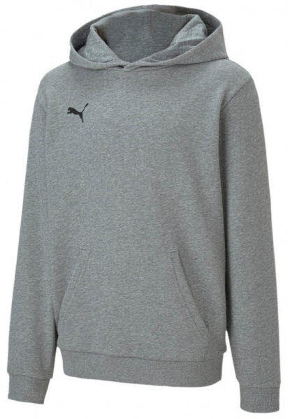 Puma teamGOAL 23 Casuals Hoody MEDIUM GRAY HEATHER Kinder - Bild 1