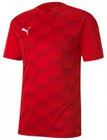 Puma teamFINAL 21 Graphic Trikot puma red-chilli Herren