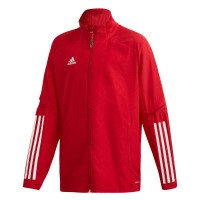 adidas Condivo 20 Präsentationsjacke power red-white Kinder