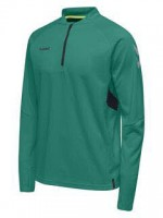 Hummel Tech Move Half Zip Sweatshirt SPORTS GREEN Herren