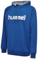 Hummel Go Cotton Logo Kapuzenpullover true blue Kinder