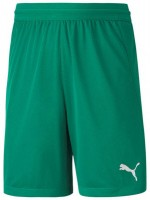 Puma teamFINAL 21 Knit Shorts pepper green Kinder