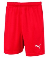 Puma LIGA Shorts Core Jr puma red-puma white Kinder
