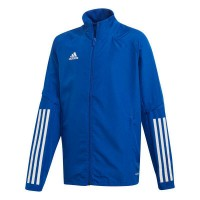 adidas Condivo 20 Präsentationsjacke royal blue-white Kinder