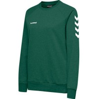 Hummel Go Cotton Sweatshirt evergreen Damen