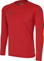 Hummel First Funktionsshirt langarm true red Kinder