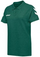 Hummel Go Cotton Polo-Shirt evergreen Damen