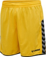 Hummel Authentic Poly Shorts yellow-black Kinder