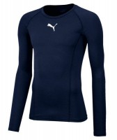 Puma LIGA Baselayer LS Funktionshirt peacoat Herren