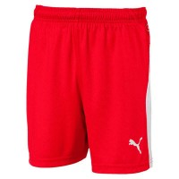 Puma LIGA Jr Shorts puma red-puma white Kinder