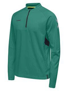 Hummel Tech Move Half Zip Sweatshirt SPORTS GREEN Herren - Bild 1