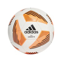 adidas Tiro League TB Fußball Größe 4/5 white-black-orange Unisex