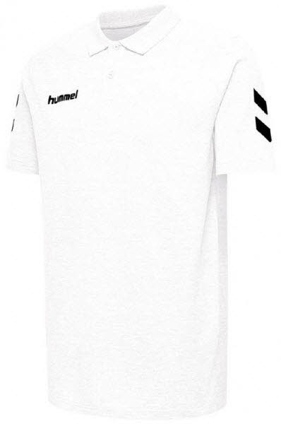 Hummel Go Cotton Polo-Shirt white - Bild 1