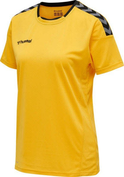 Hummel Authentic Poly Trikot yellow-black Damen - Bild 1