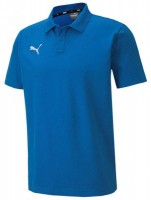 Puma teamGOAL 23 Casuals Polo Shirt electric blue Herren