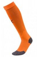 Puma LIGA Socks Stutzenstrümpfe golden poppy-black