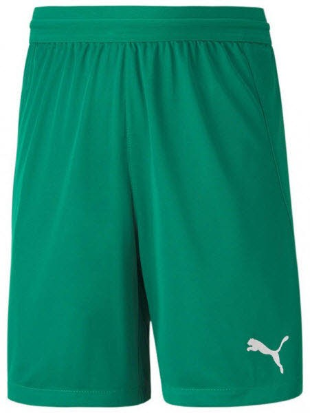 Puma teamFINAL 21 Knit Shorts pepper green Kinder - Bild 1