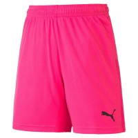 Puma teamGOAL 23 Knit Jr Shorts fluo pink-black Kinder