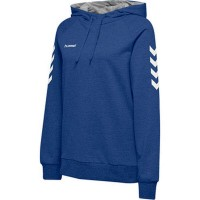 Hummel Go Cotton Kapuzenpullover true blue Damen