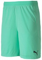 Puma teamFINAL 21 Knit Shorts green glimmer Kinder
