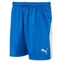 Puma LIGA Jr Shorts electric blue-white Kinder