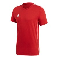 adidas Core 18 T-Shirt power red-white Herren