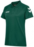 Hummel Core Polo-Shirt evergreen Damen