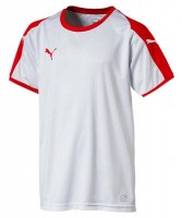 Puma LIGA Jr Trikot puma white-red Kinder