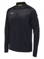 Hummel Tech Move Half Zip Sweatshirt BLACK Herren