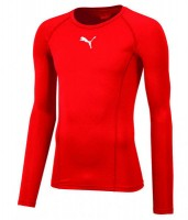Puma LIGA Baselayer LS Funktionshirt puma red Herren