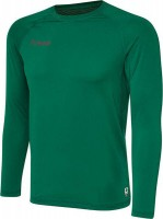 Hummel First Funktionsshirt Langarm evergreen Herren