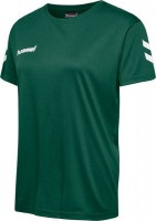 Hummel Core T-Shirt evergreen Damen