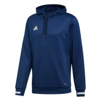 adidas Team 19 Kapuzenpullover navy blue-white Kinder