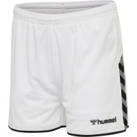 Hummel Authentic Poly Shorts white Damen