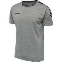 Hummel Authentic Poly Trikot GREY MELANGE Herren