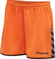 Hummel Authentic Poly Shorts tangerine Damen