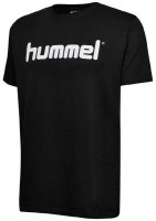 Hummel Go Cotton Logo T-Shirt black Kinder