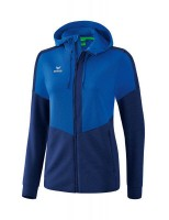 Erima Squad Trainingsjacke mit Kapuze new royal-new navy Damen