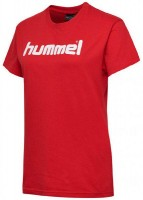 Hummel Go Cotton Logo T-Shirt true red Damen