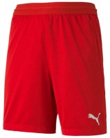 Puma teamFINAL 21 Knit Shorts puma red Kinder