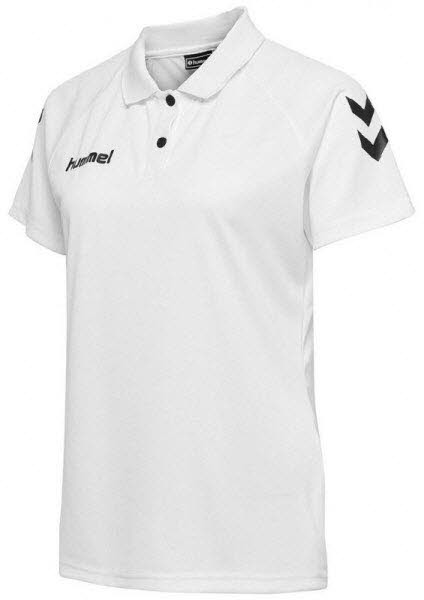 Hummel Core Polo-Shirt white Damen - Bild 1