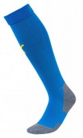 Puma LIGA Socks Core Stutzenstrümpfe electric blue-yellow