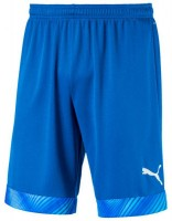 Puma CUP Shorts Jr electric blue-white Kinder